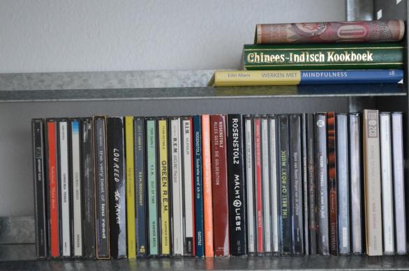 cd's opruimen